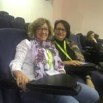 Paqui Palomo (Matemáticas) y Gloria Pardo (Jefa de Estudios)